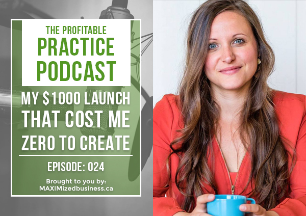 My $1000 Launch That Cost Me ZERO to Create: PPP #024