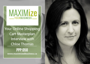 Your Online Shopping Cart MasterPlan – Interview with Chloe Thomas – PPP: 058