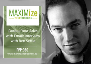 Double Your Sales with Email: Interview with Ben Settle – PPP: 060