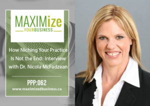 How Niching Your Practice Is Not The End: Interview with Dr. Nicola McFadzean, ND – PPP: 062