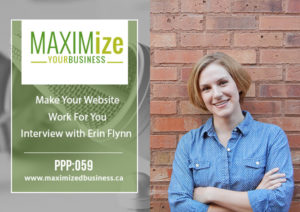 Make Your Website Work for You: Interview with Erin Flynn – PPP: 059