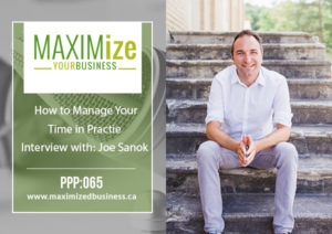 How to Manage Your Time In Practice: Interview with Joe Sanok – PPP:065