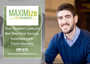 Your Student Loans Do Not Stop Your Success: Interview with Travis Hornsby – PPP: 075
