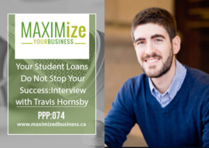 Your Student Loans Do Not Stop Your Success: Interview with Travis Hornsby – PPP: 074