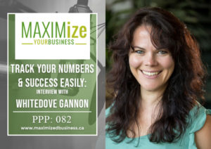 Track Your Numbers & Success Easily: Interview with Whitedove Gannon – PPP: 082
