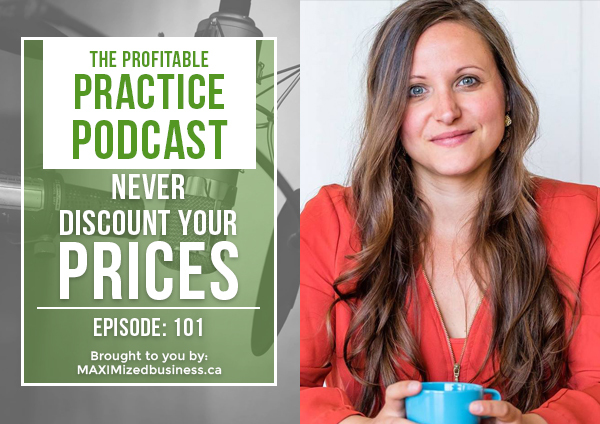 Never Discount Your Prices: PPP 101