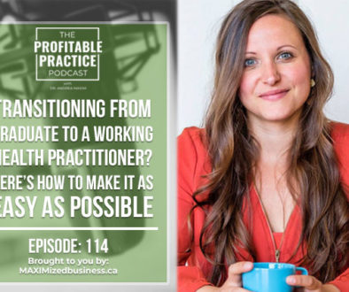 Transitioning From Graduate To A Working Health Practitioner? Here's How To Make It As Easy As Possible [PPP #114]