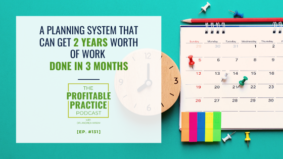A Planning System That Can Get 2 Years Worth of Work Done In 3 Months
